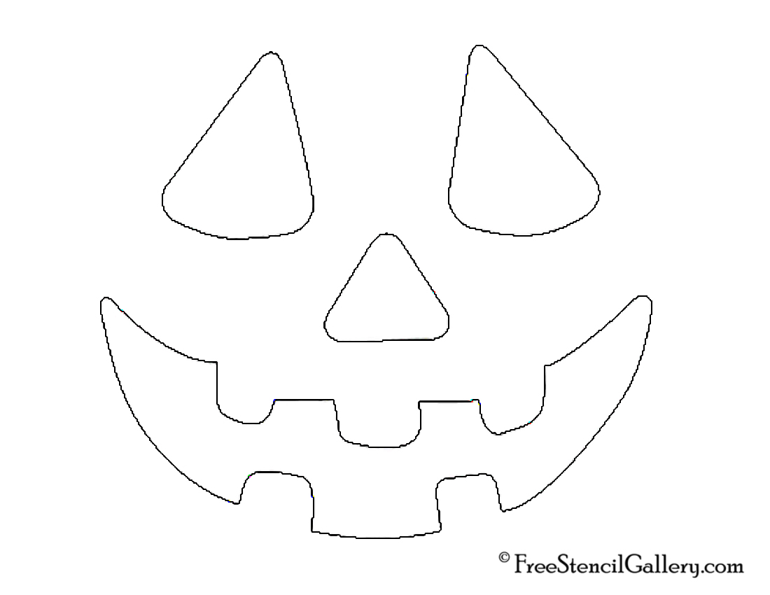It's just an image of Dashing Jack O Lantern Stencil Printable