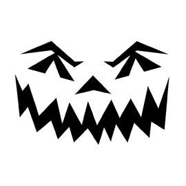 Jack-O-Lantern Face 05