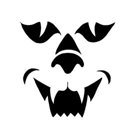 Jack-O-Lantern Face 10