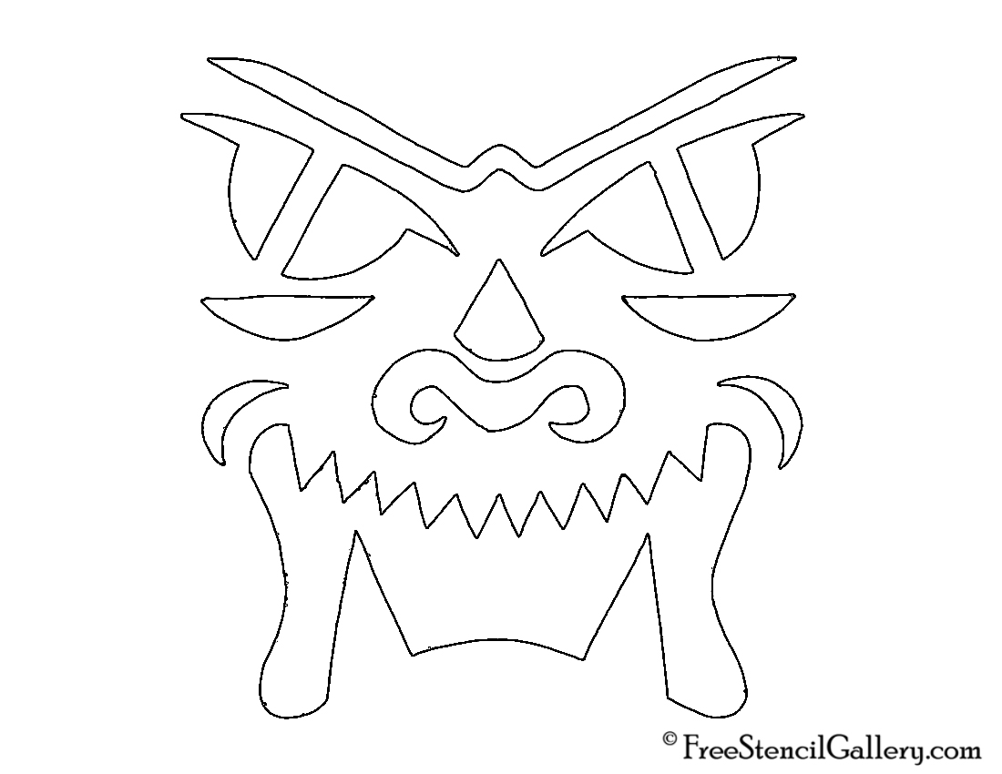 Jack-O-Lantern Face 14
