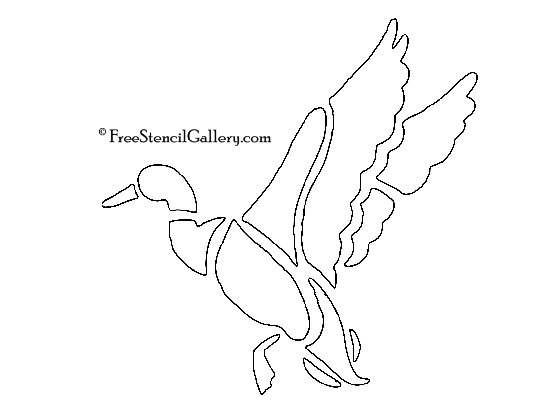 Duck Stencil