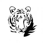 Tiger Stencil