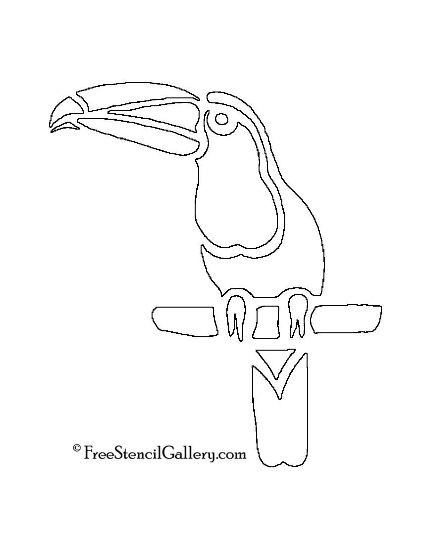 Toucan Stencil