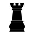 Chess Piece - Rook Stencil