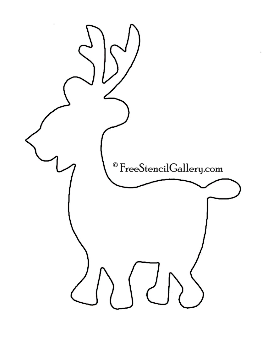 reindeer tail template - caribou outline related keywords caribou outline long