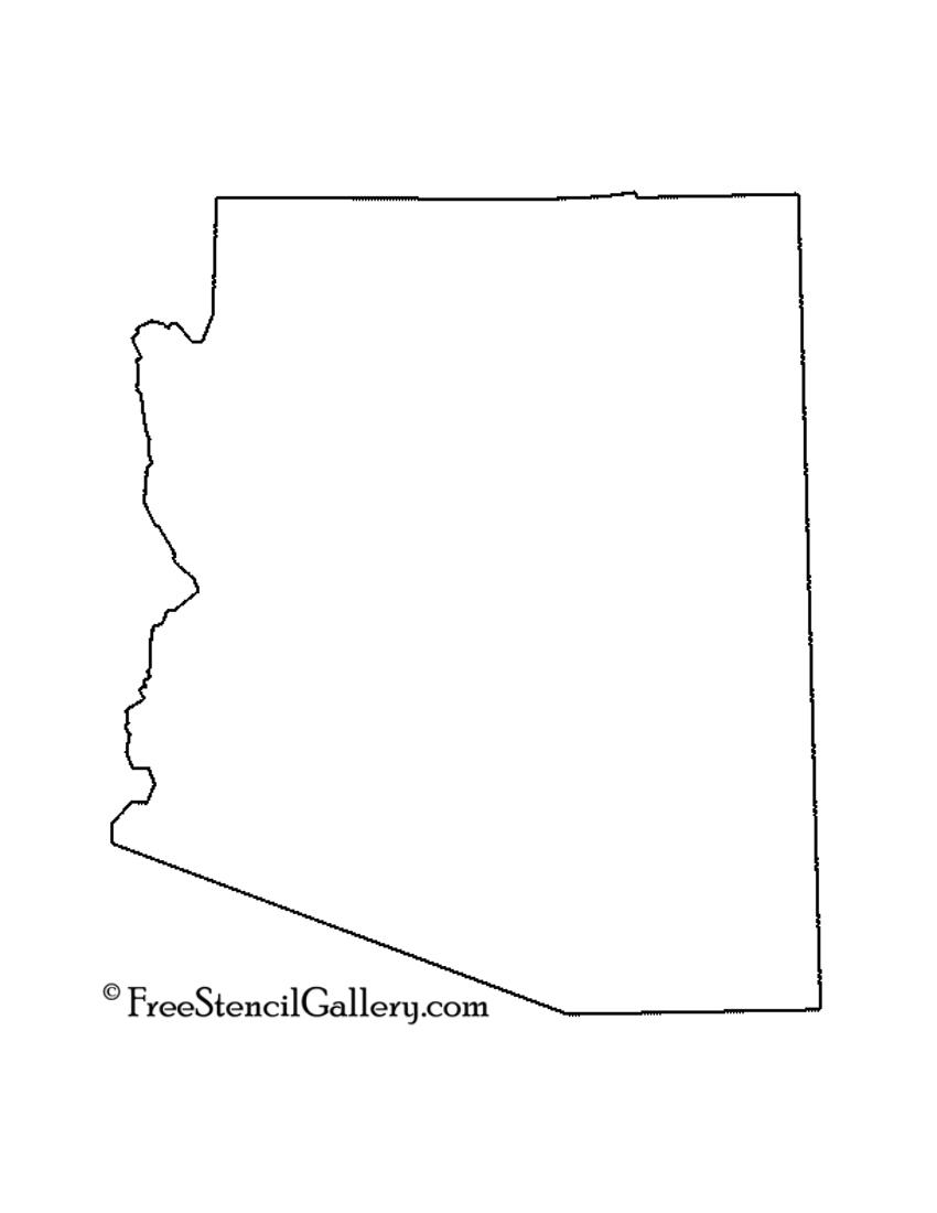 Arizona Stencil