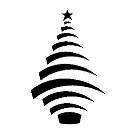 Christmas Tree Stencil 16 Free Stencil Gallery