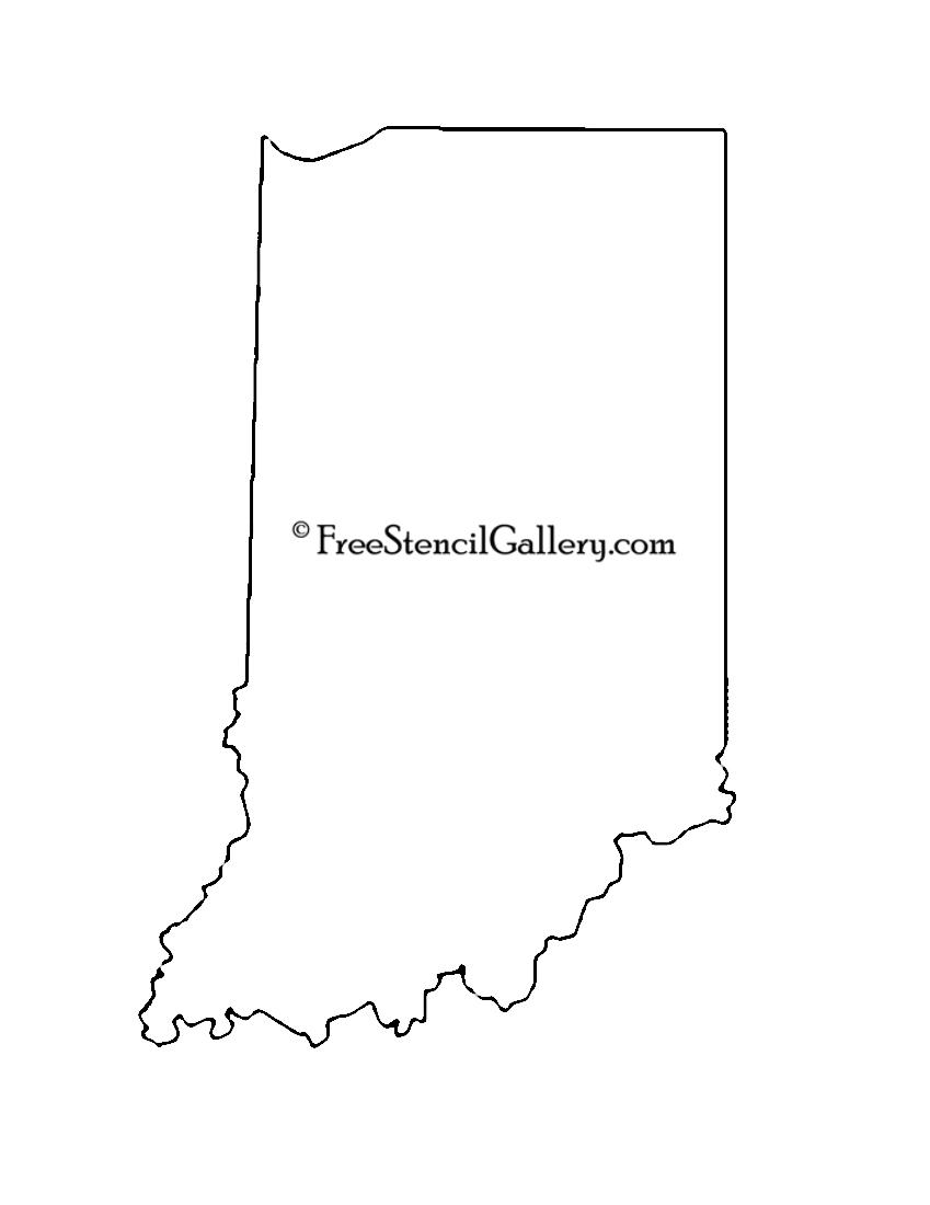 Indiana Stencil