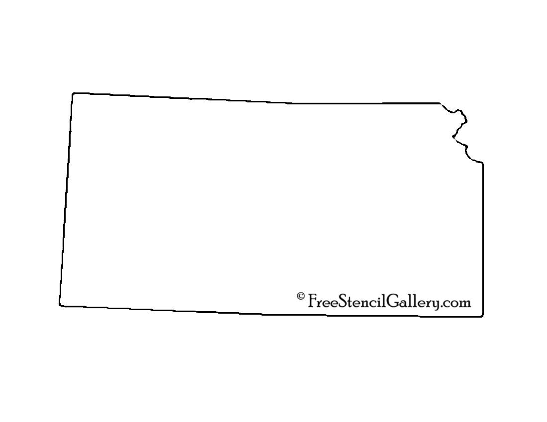 Kansas Stencil