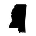 Mississippi Stencil