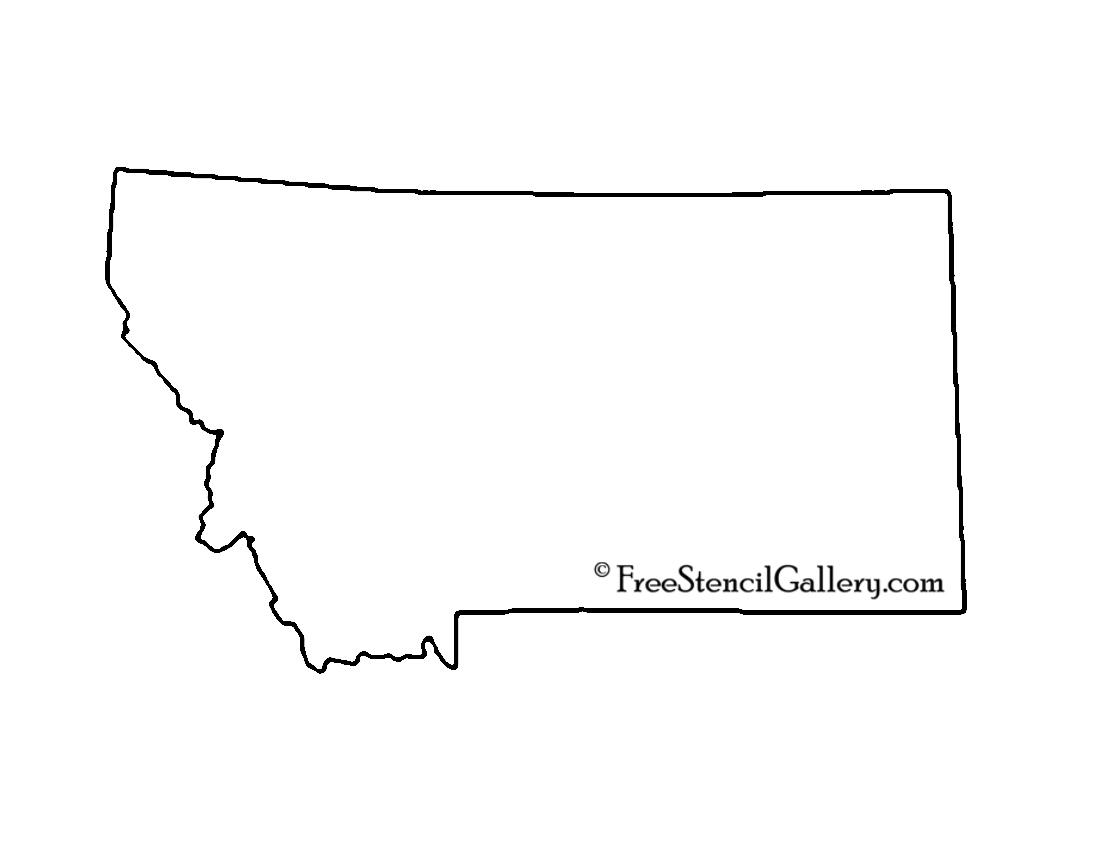 Montana Stencil