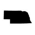 Nebraska Stencil