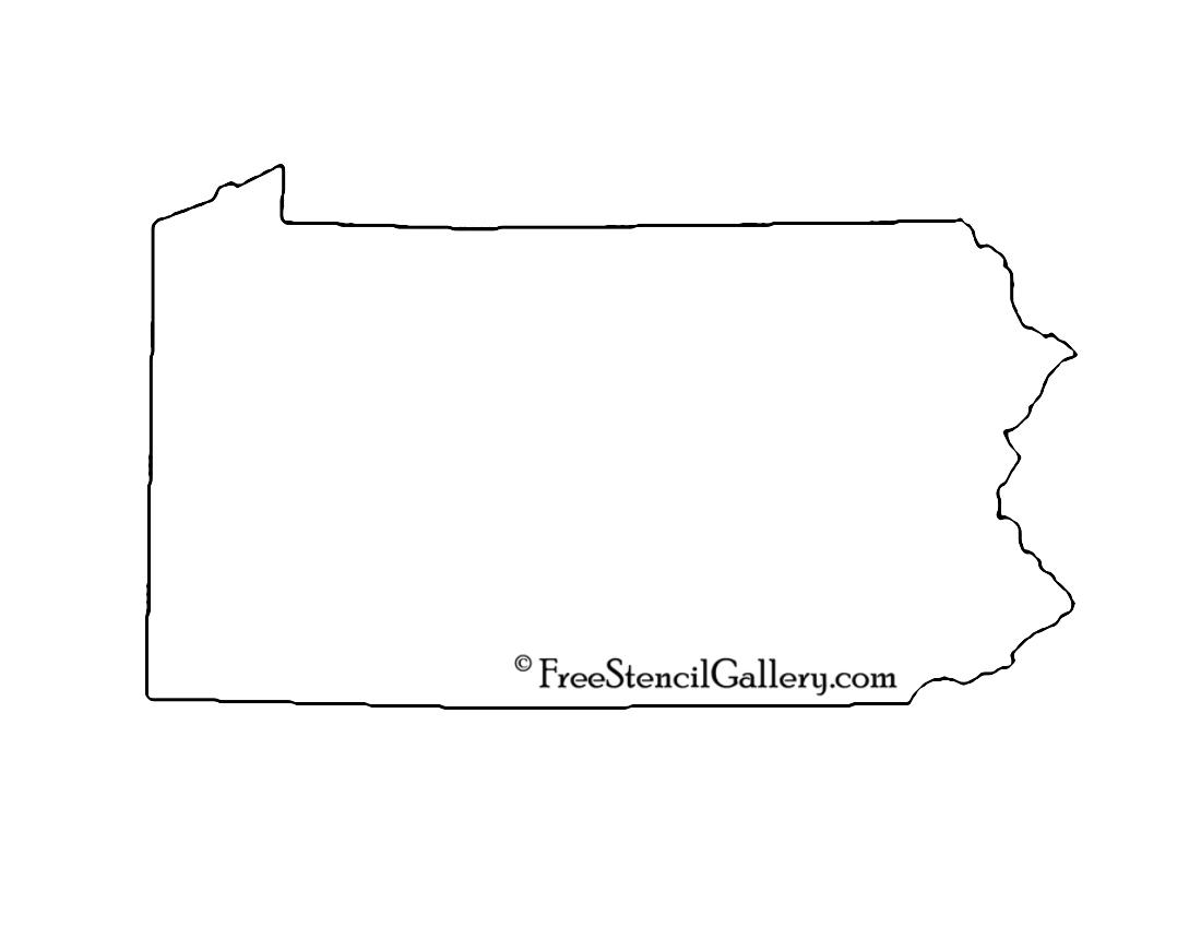 Pennsylvania stencil