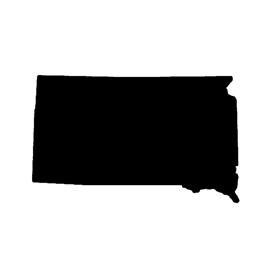 South Dakota Stencil