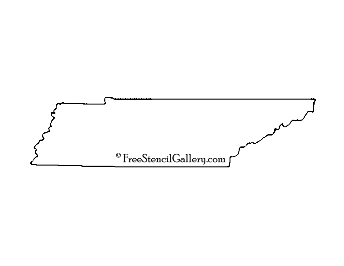 Tennessee Stencil