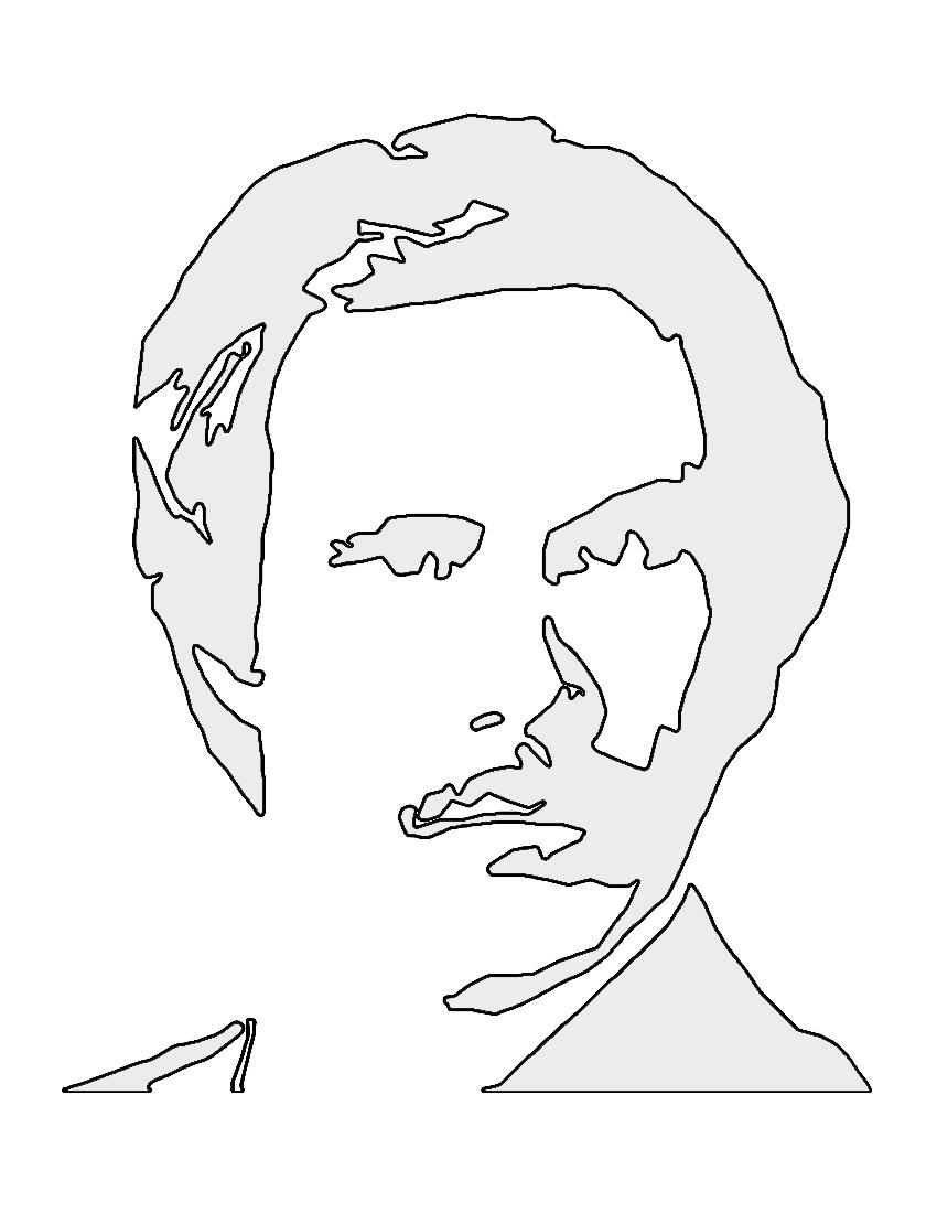 Anchorman Ron Burgundy Stencil