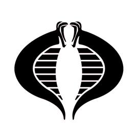 Cobra Logo Stencil