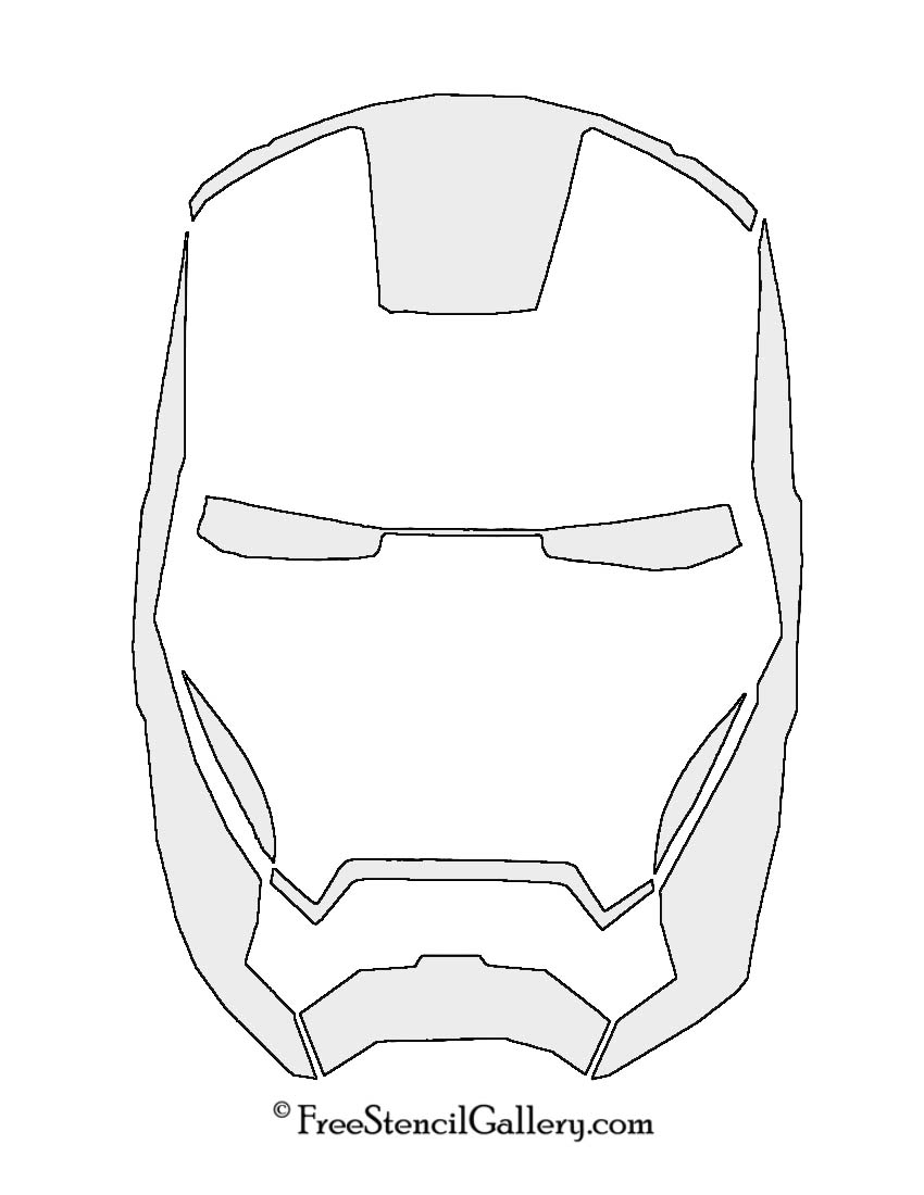 It's just a picture of Iron Man Printable intended for logo
