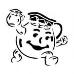 Kool Aid Man Stencil