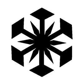 Snowflake Stencil 03