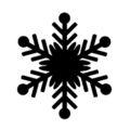 Snowflake Stencil 07