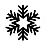 Snowflake Stencil 08