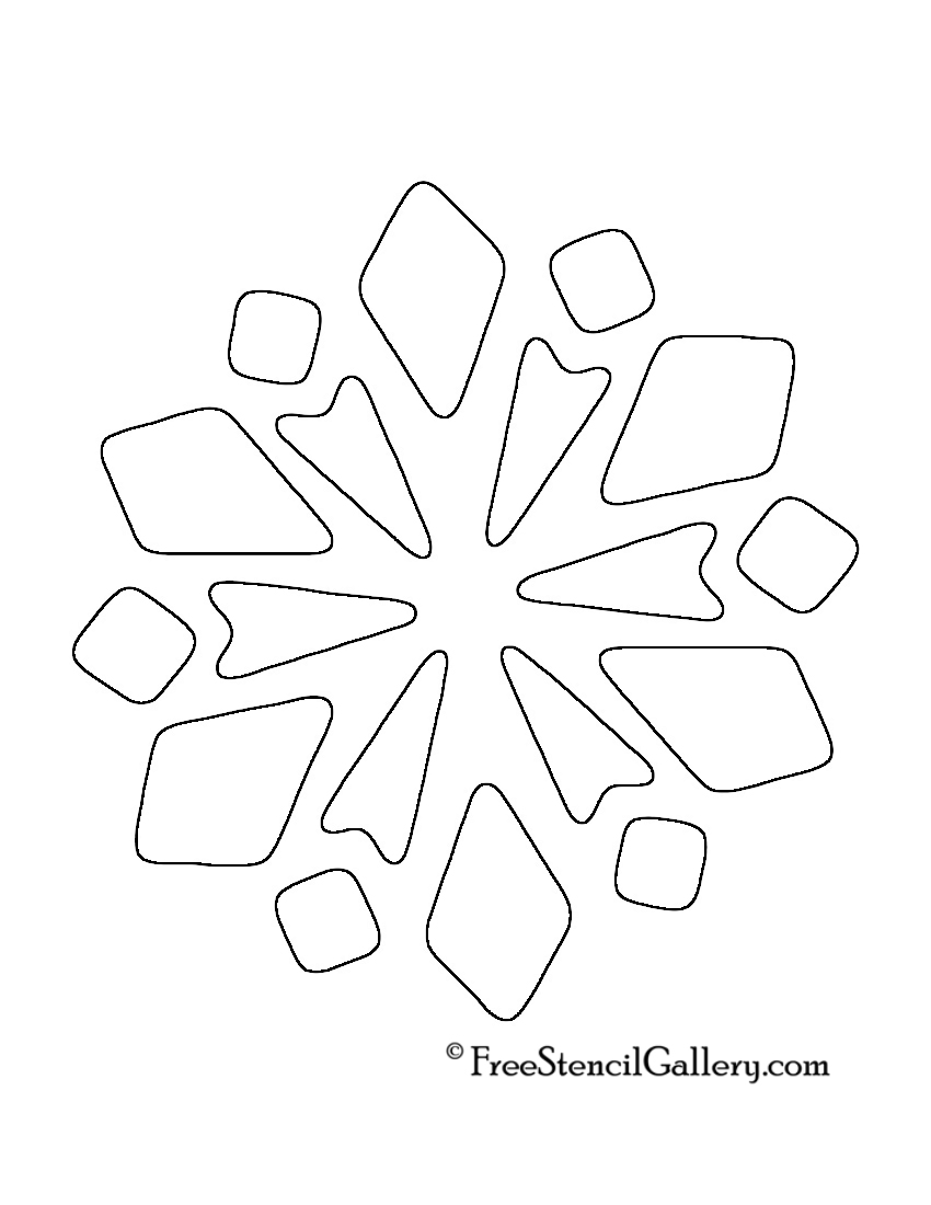 Snowflake Stencil 14
