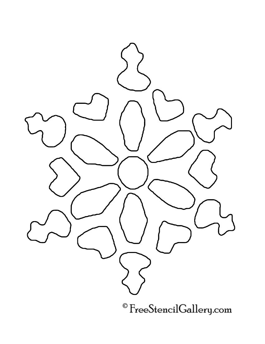 Snowflake Stencil 15