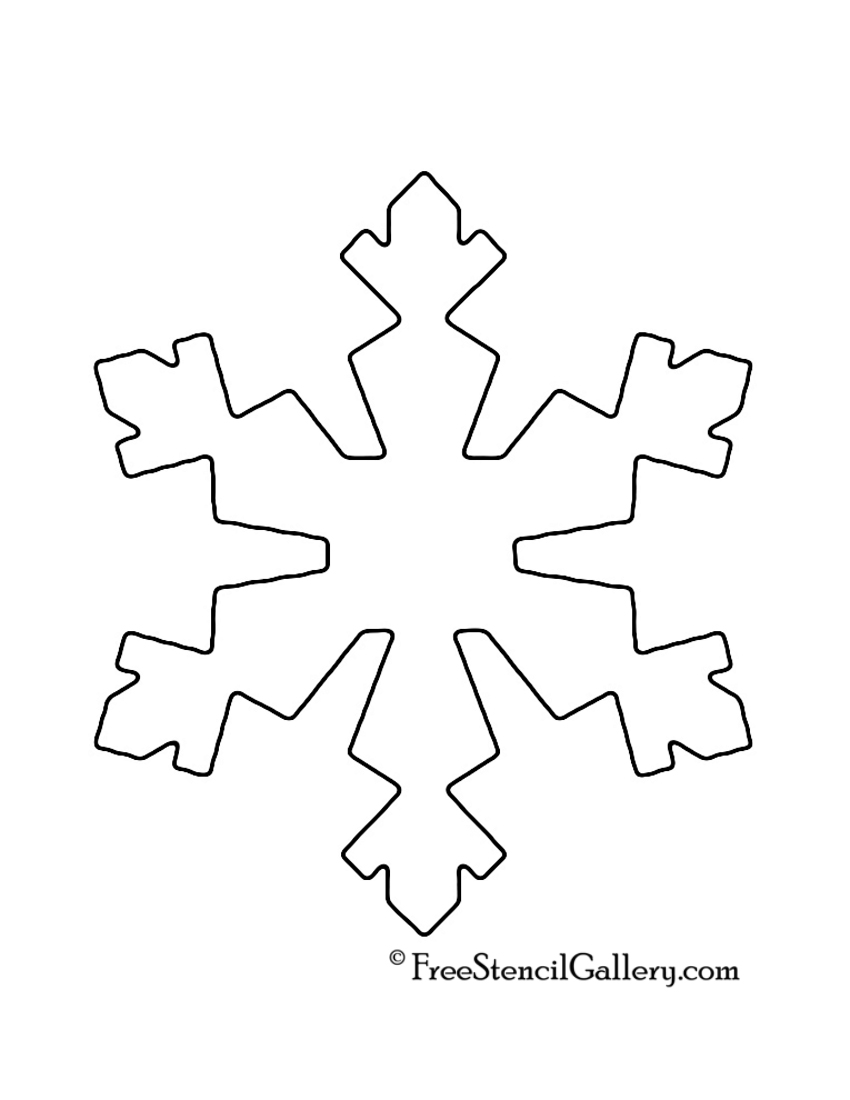 It's just a photo of Adorable Snowflake Patterns Printable
