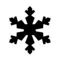 Snowflake Stencil 17