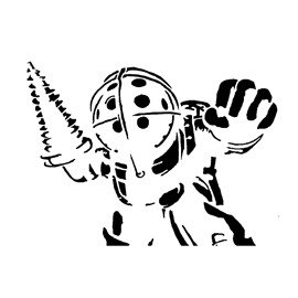 Bioshock – Big Daddy Stencil