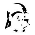 Darth Vader Helmet Stencil