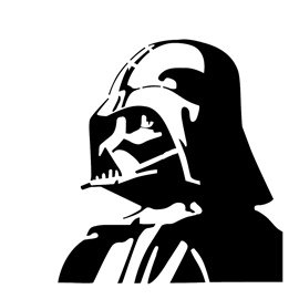 Darth Vader Stencil