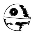 Death Star Stencil
