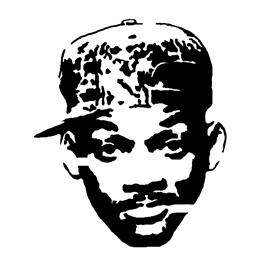 Fresh Prince of Bel Air Stencil