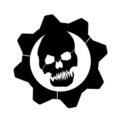 Gears of War - Crimson Omen Logo Stencil