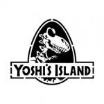 Jurassic Yoshi's Island Stencil