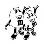 M&M Stencil