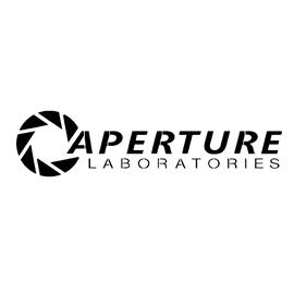 Portal – Aperture Laboratories Stencil