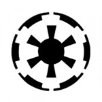Star Wars Galactic Empire Symbol Stencil
