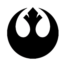 Star Wars Rebel Alliance Stencil