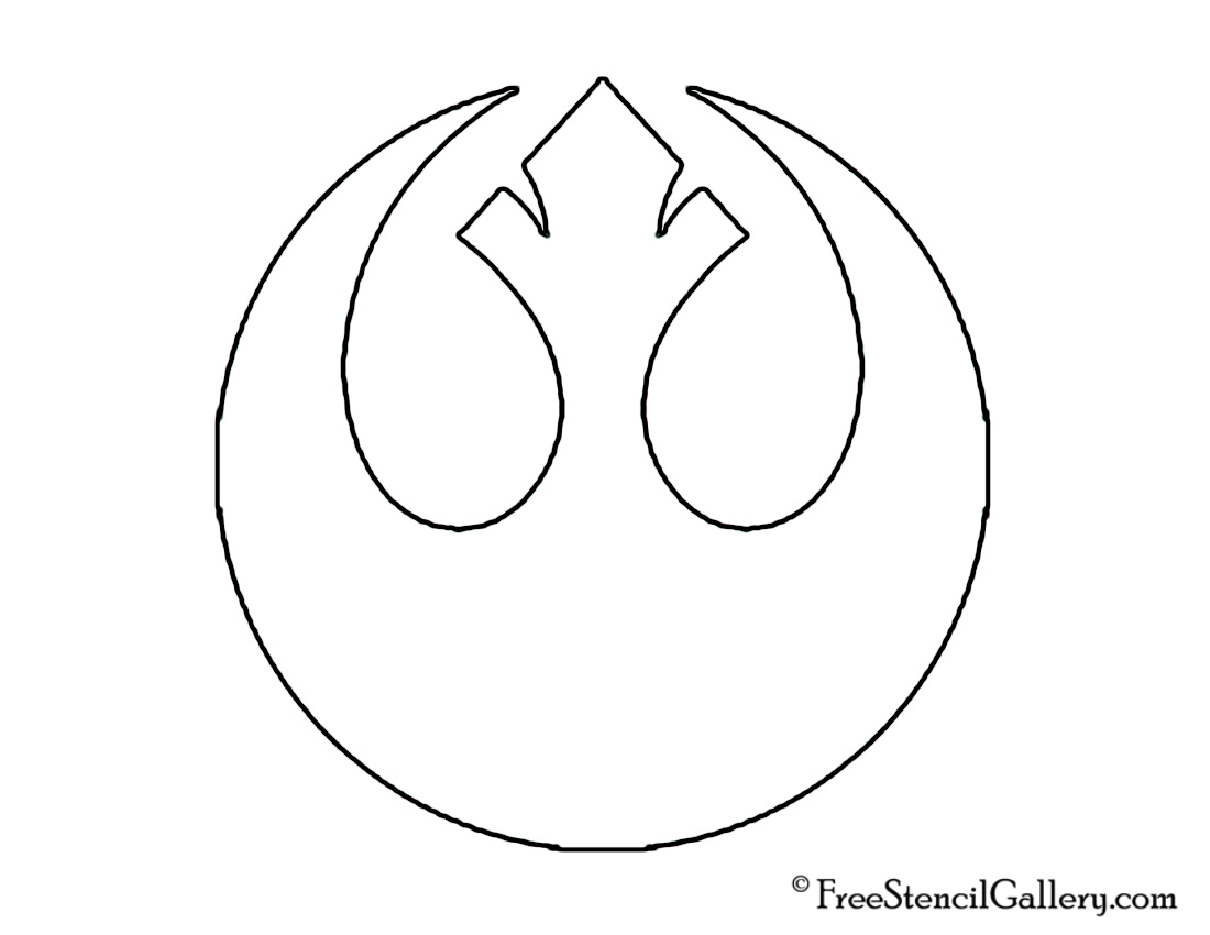 star wars rebel alliance stencil free stencil gallery