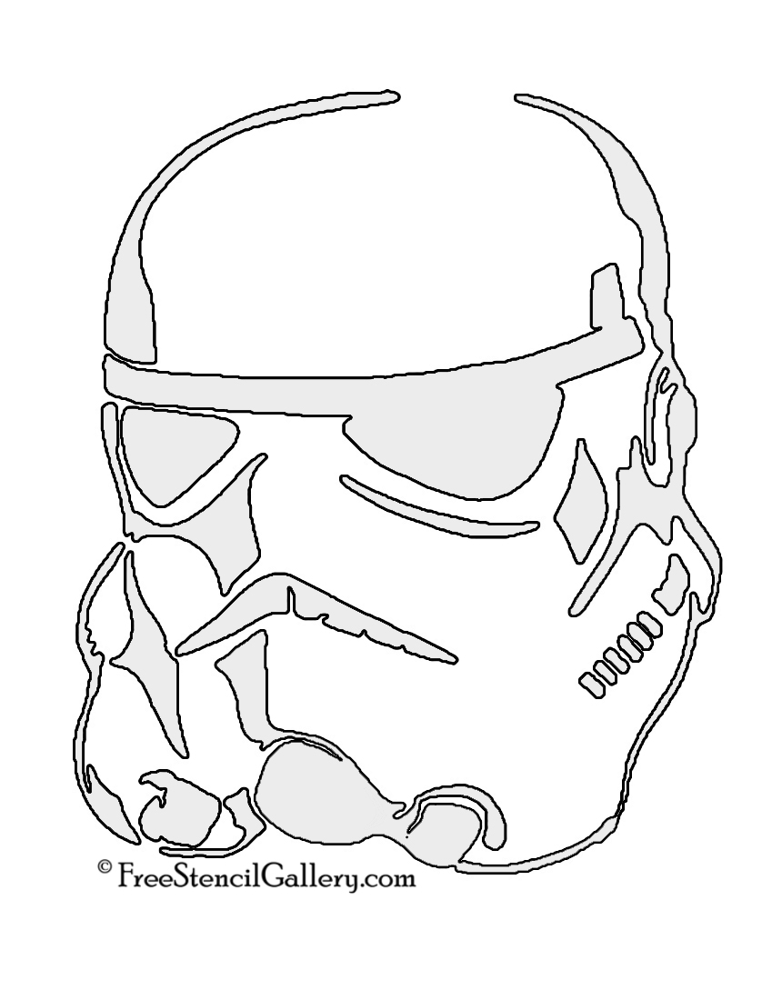 Hilaire image in stormtrooper stencil printable