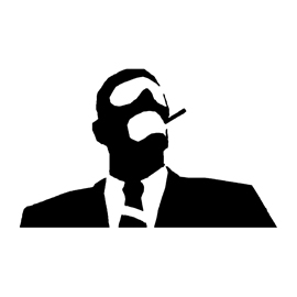 Team Fortress – Spy Stencil