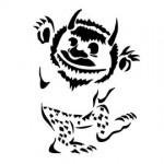 Wild Thing Stencil