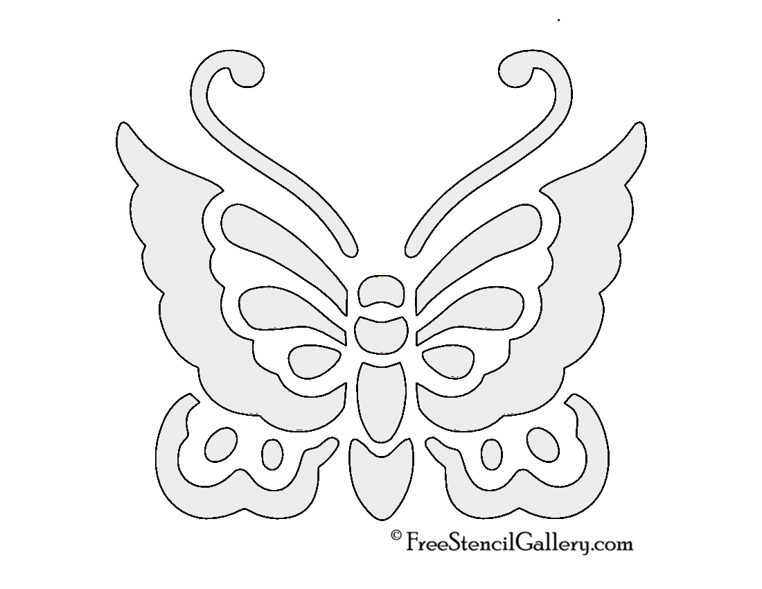Amazing Butterfly Pumpkin Template Crest - Resume Ideas - namanasa.com