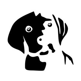 Dog Stencil 01