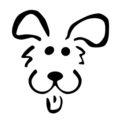 Dog Stencil 02