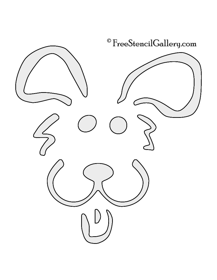 Free Printable Pumpkin Stencils Animals - Worksheet & Coloring Pages