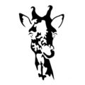 Giraffe 01 Stencil